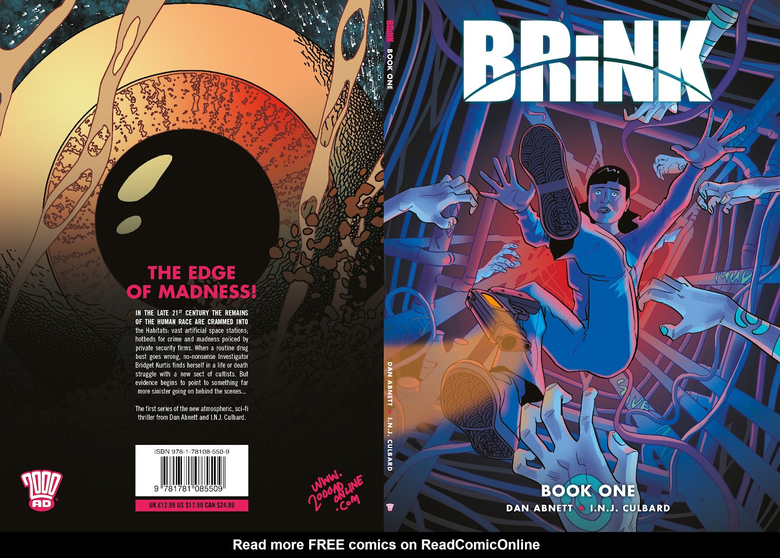 Read online Brink comic -  Issue # TPB 1 - 1