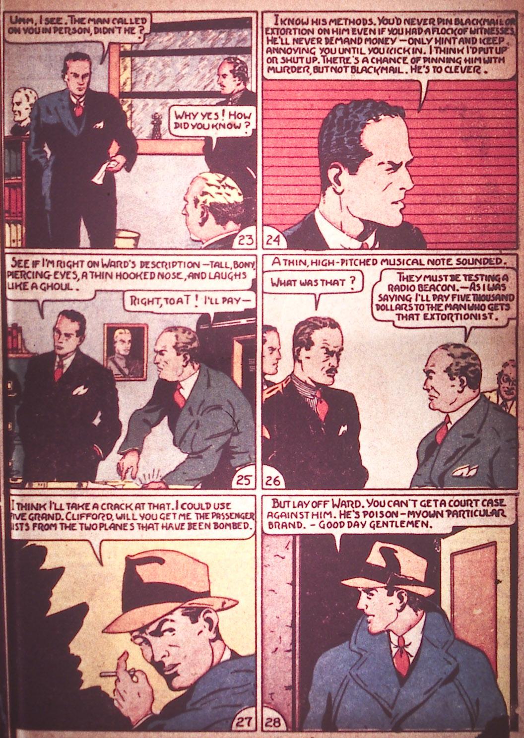 Read online Detective Comics (1937) comic -  Issue #12 - 27
