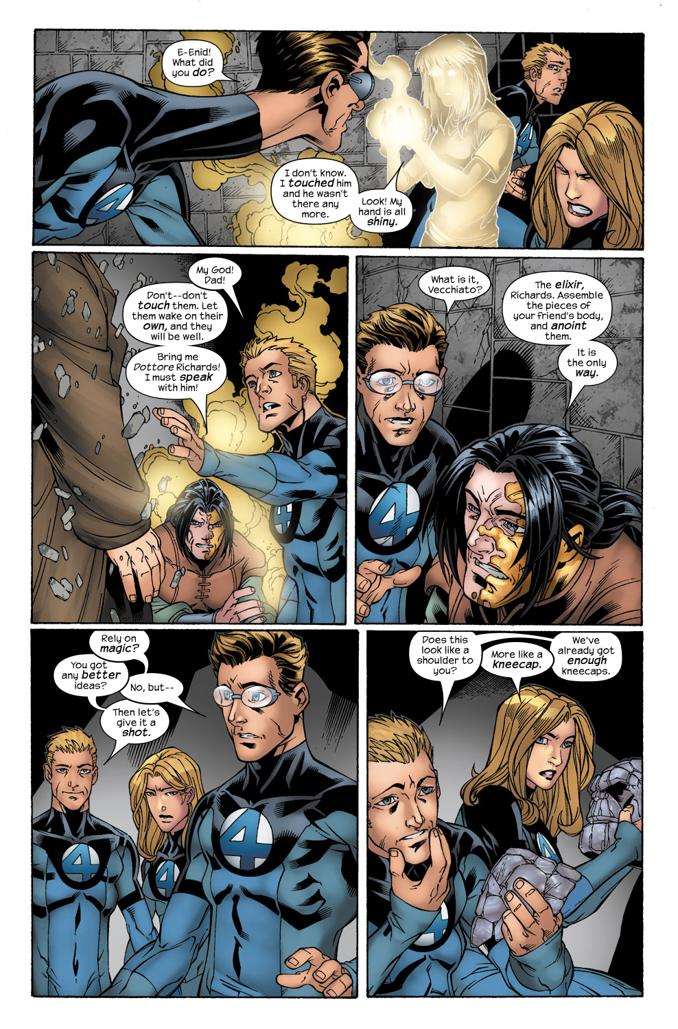 Read online Ultimate Fantastic Four (2004) comic -  Issue #41 - 20