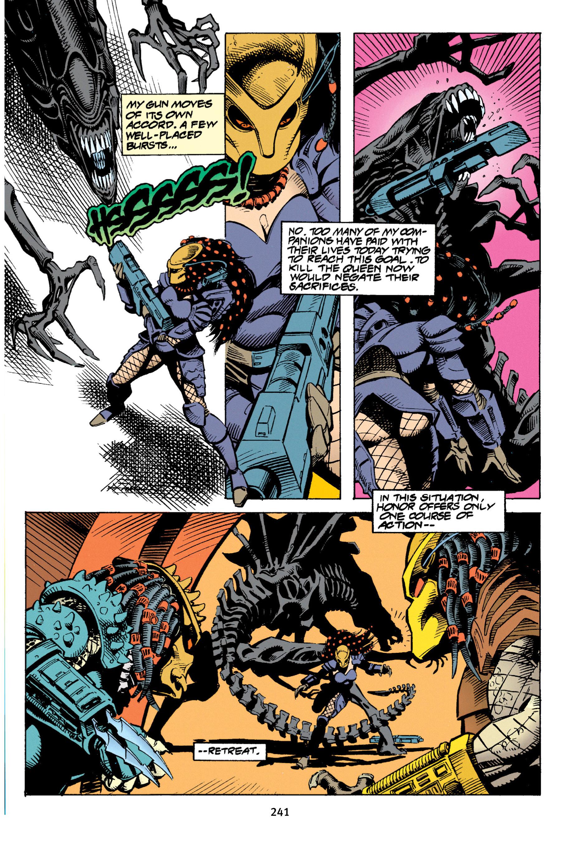 Read online Aliens vs. Predator Omnibus comic -  Issue # _TPB 1 Part 3 - 33