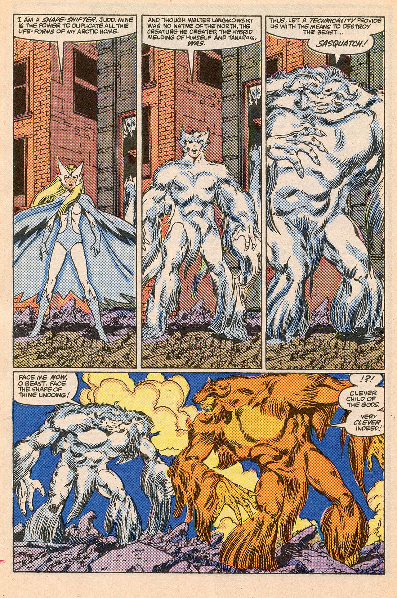 Read online Alpha Flight (1983) comic -  Issue #23 - 26