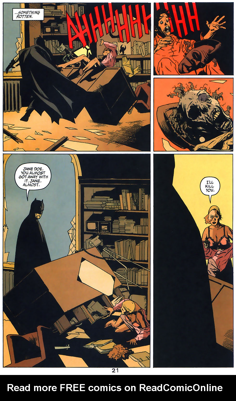 Read online Arkham Asylum: Living Hell comic -  Issue #1 - 23