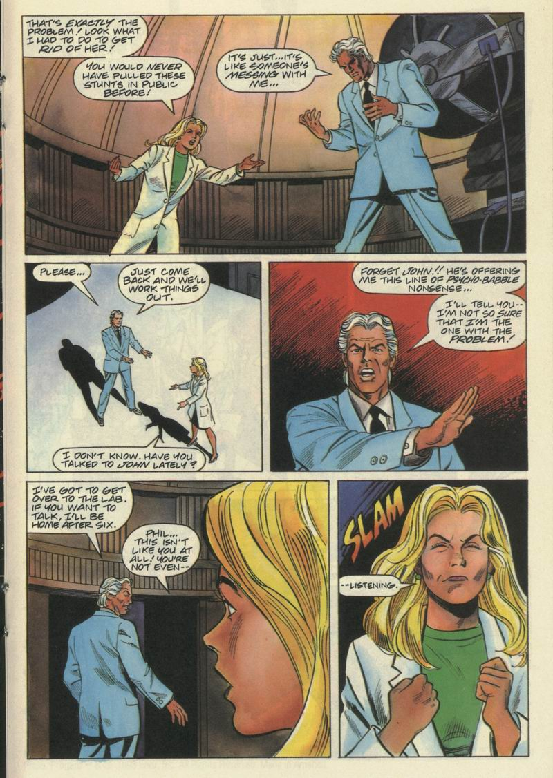 Read online Solar, Man of the Atom comic -  Issue #21 - 15