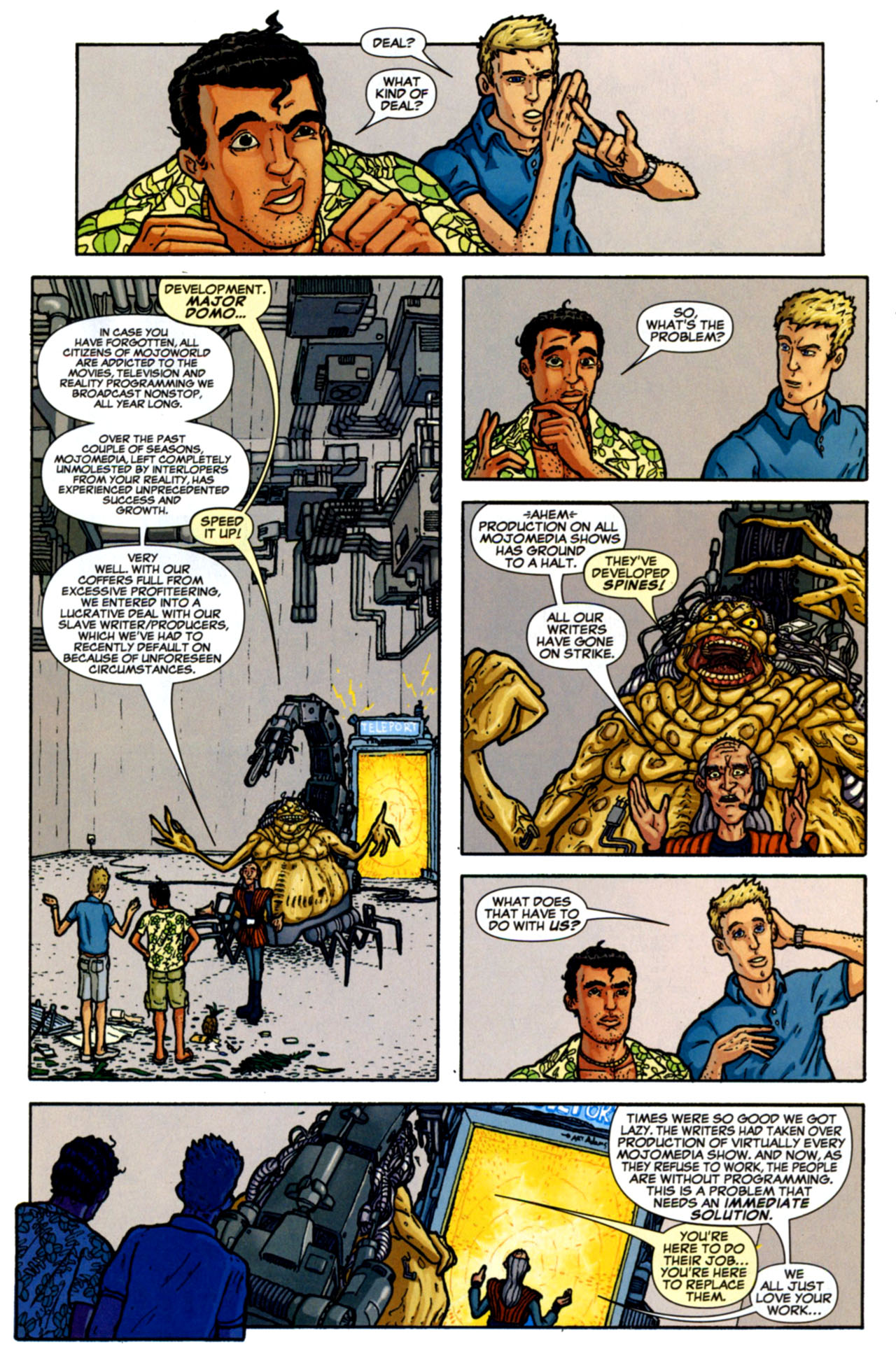Read online Astonishing Tales (2009) comic -  Issue #1 - 32