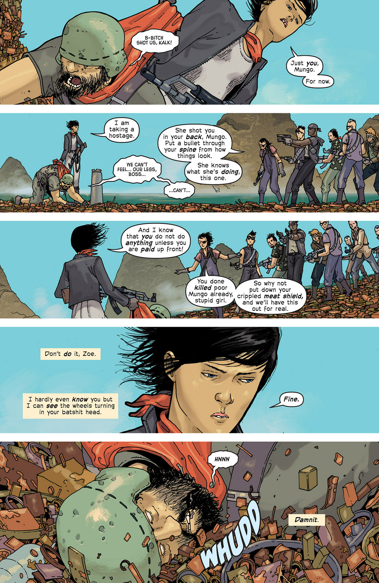 Read online Great Pacific comic -  Issue #5 - 12
