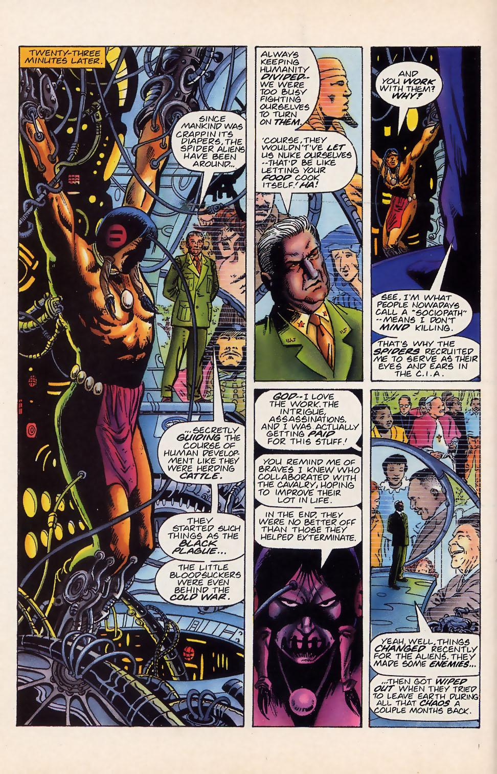 Read online Turok, Dinosaur Hunter (1993) comic -  Issue #18 - 19