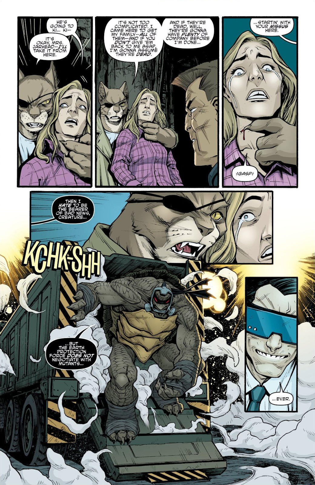 Read online Teenage Mutant Ninja Turtles: The IDW Collection comic -  Issue # TPB 9 (Part 1) - 82