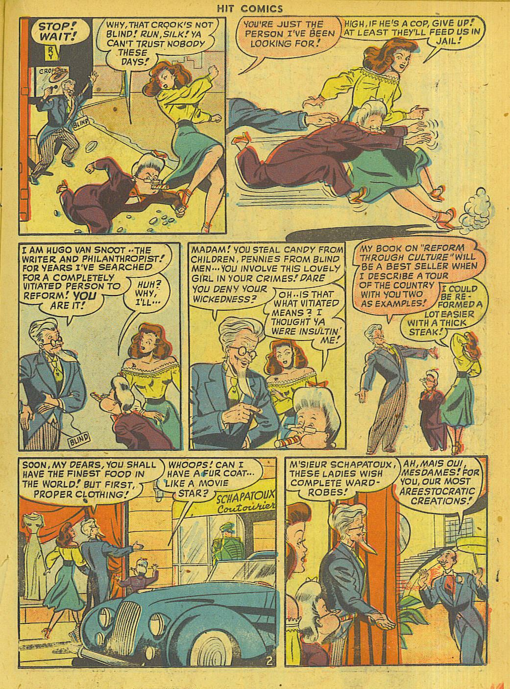 Read online Hit Comics comic -  Issue #56 - 17