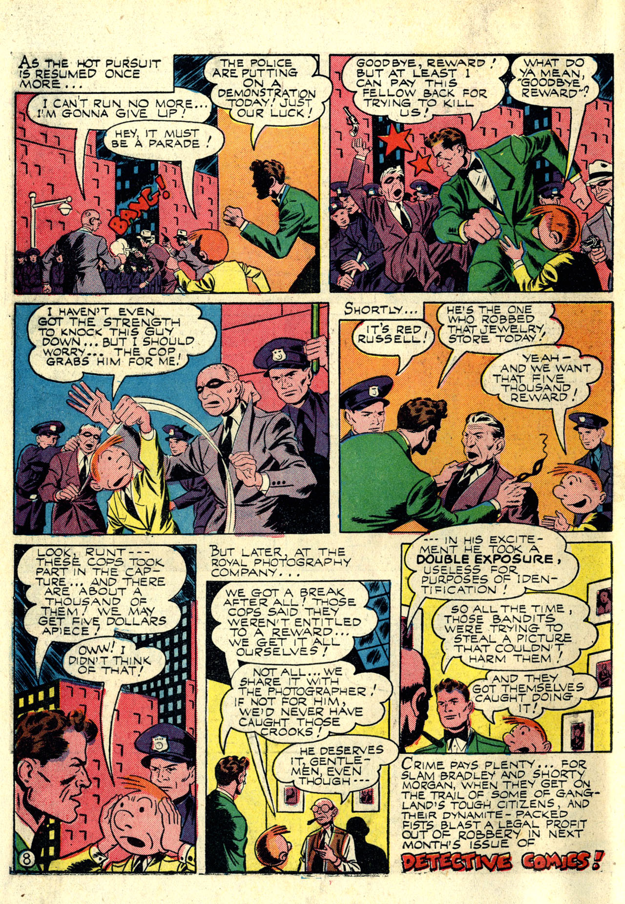 Read online Detective Comics (1937) comic -  Issue #76 - 58
