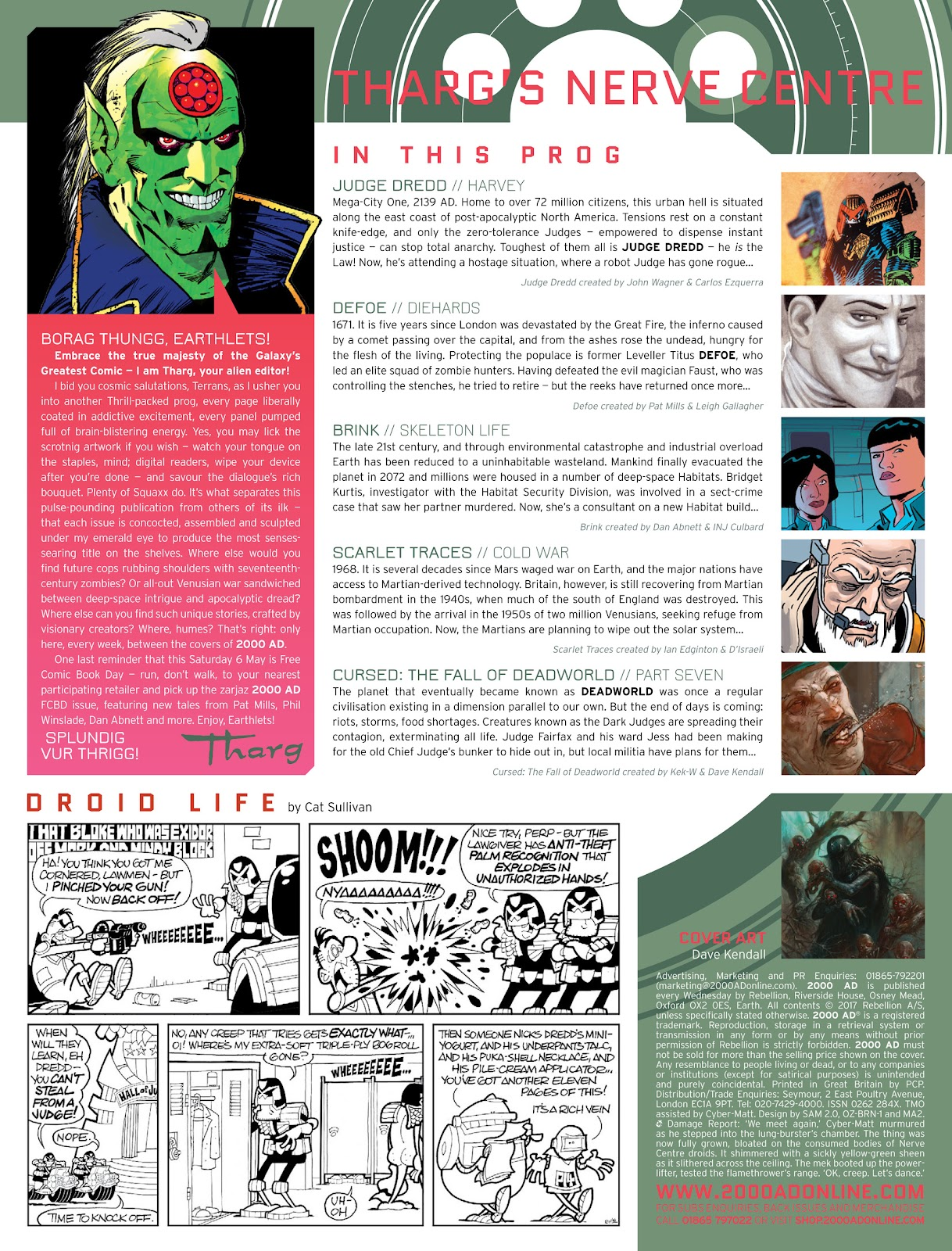 Read online 2000 AD comic -  Issue #2029 - 2