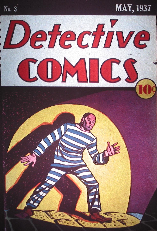Detective Comics (1937) 3 Page 0