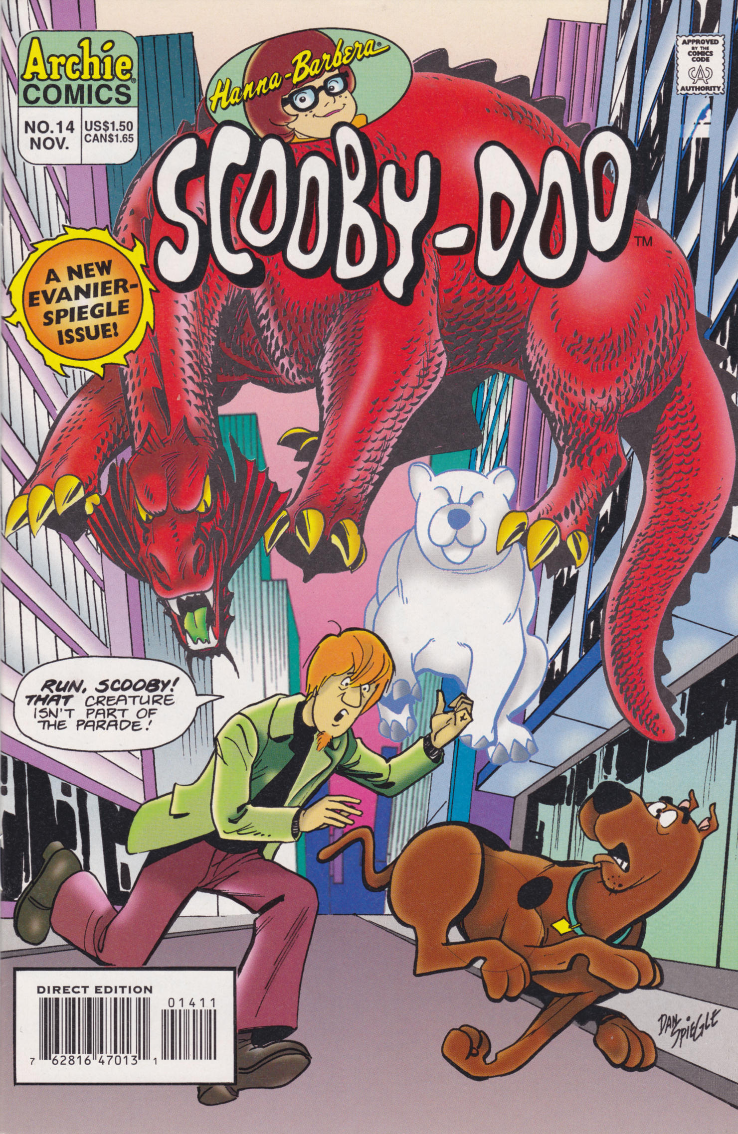 Read online Scooby-Doo (1995) comic -  Issue #14 - 1
