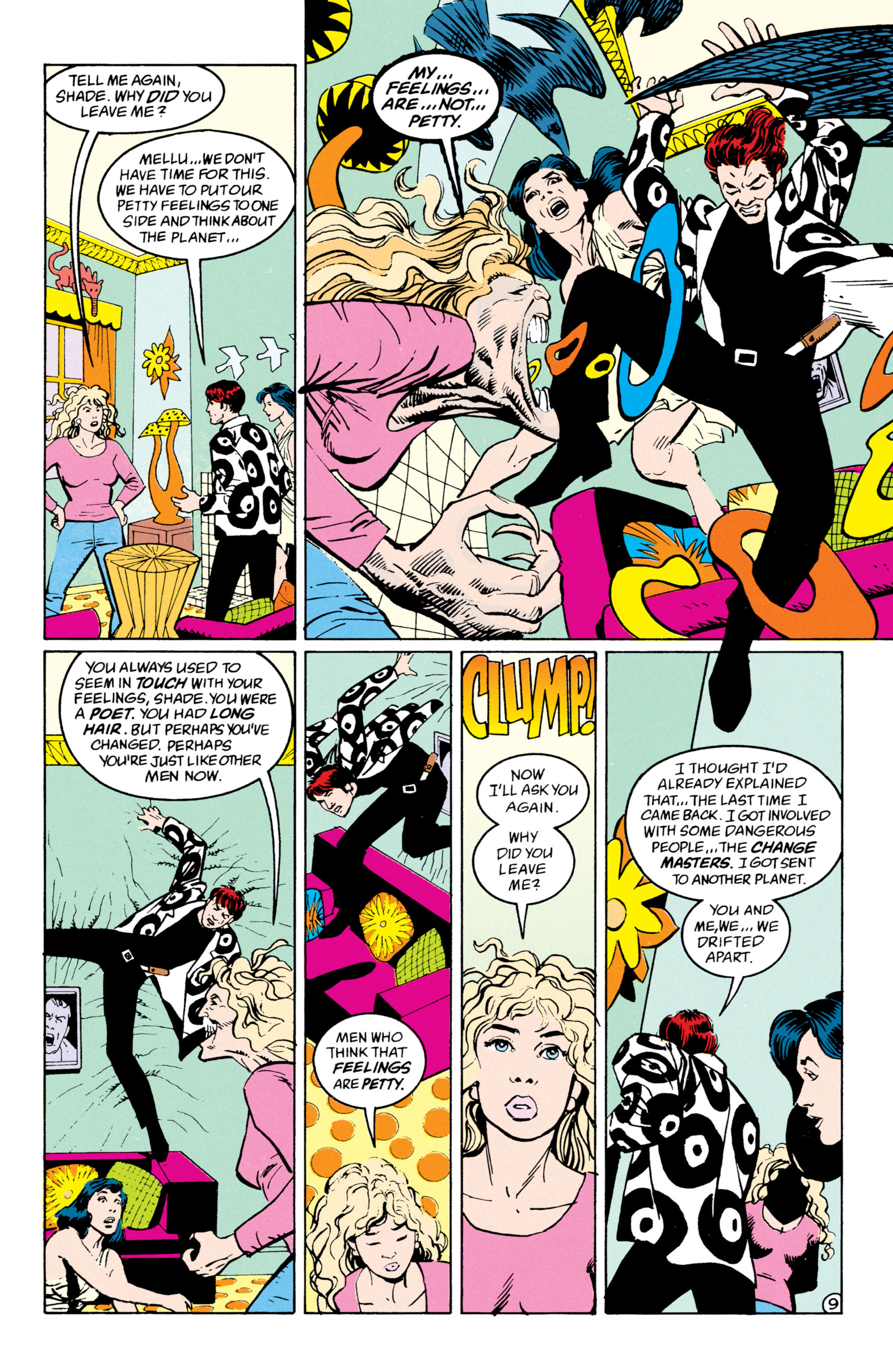 Read online Shade, the Changing Man comic -  Issue #53 - 10