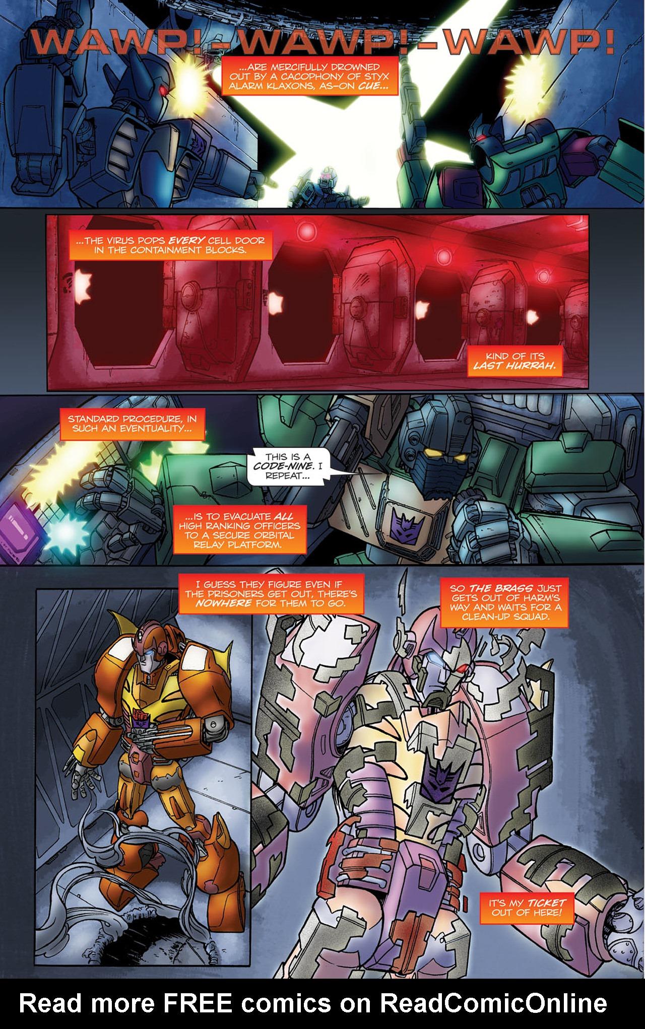 Read online Transformers Spotlight: Hot Rod comic -  Issue # Full - 17