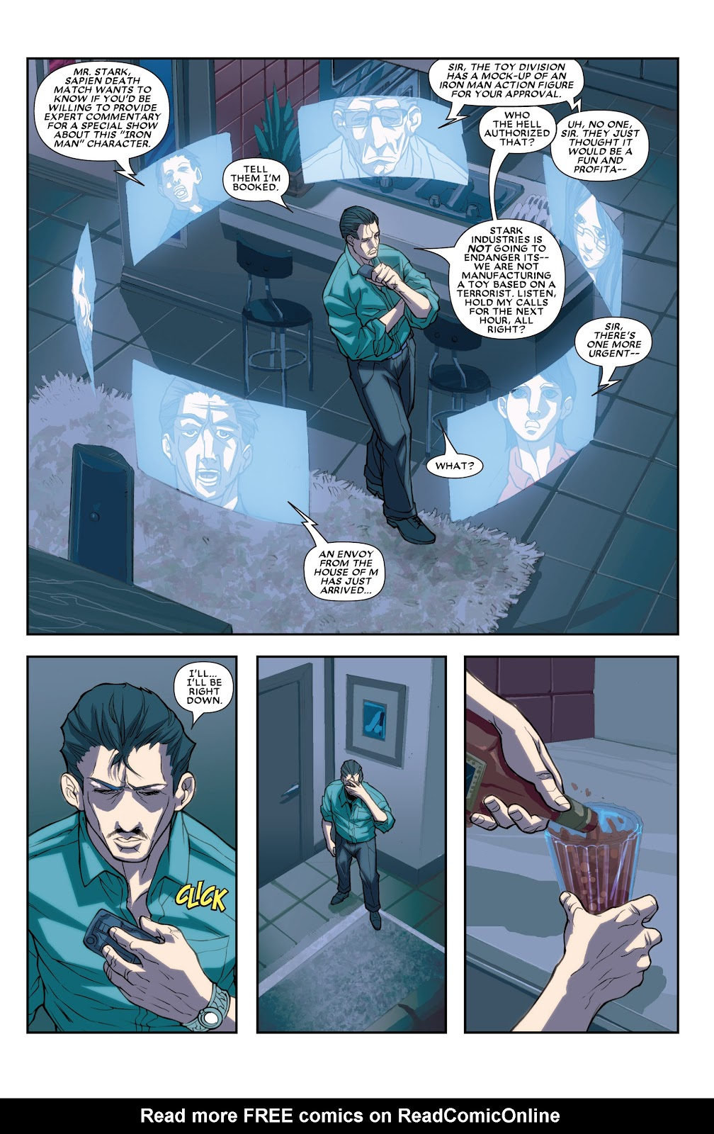 Iron Man: House of M Issue #2 #2 - English 8