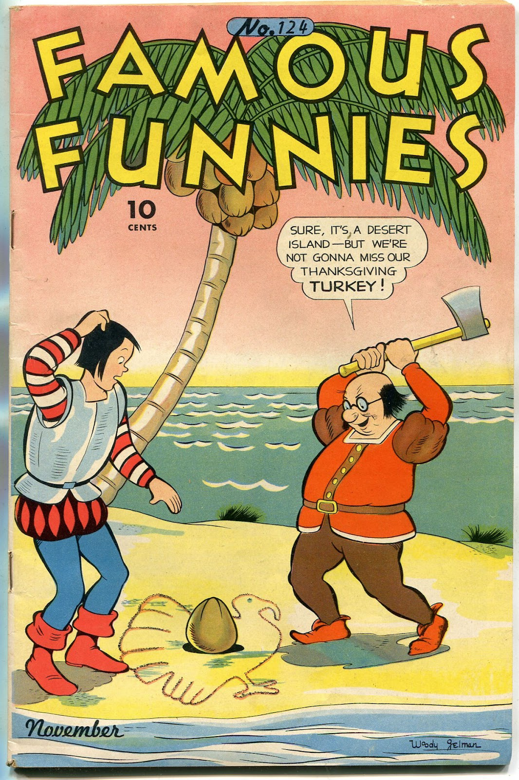 Read online Famous Funnies comic -  Issue #124 - 1