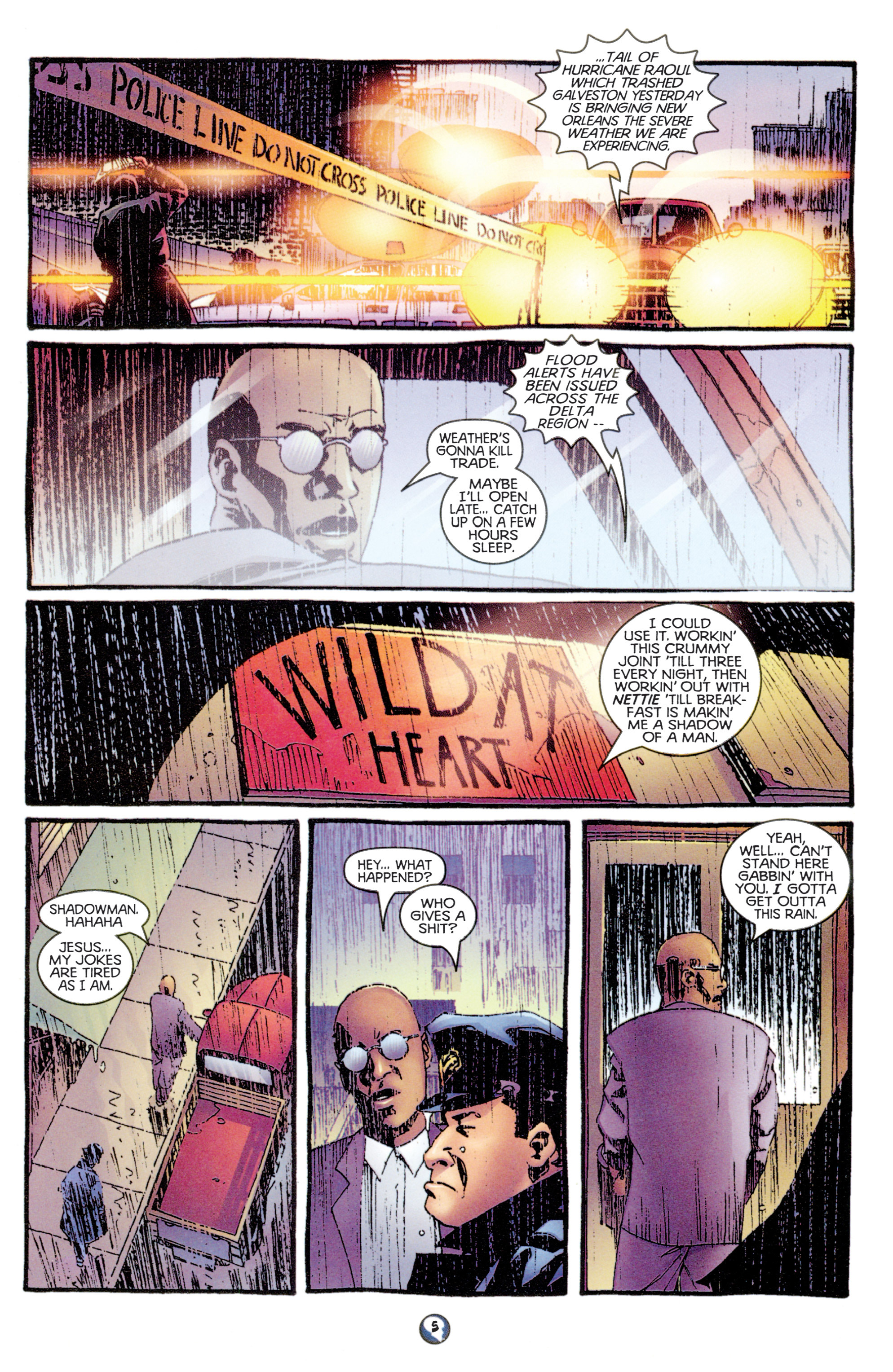 Read online Shadowman (1997) comic -  Issue #9 - 6