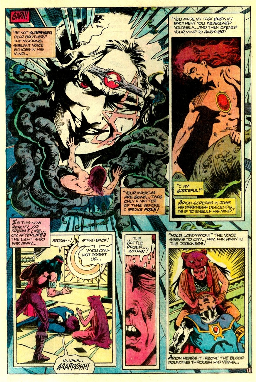 Read online Arion, Lord of Atlantis comic -  Issue #17 - 12