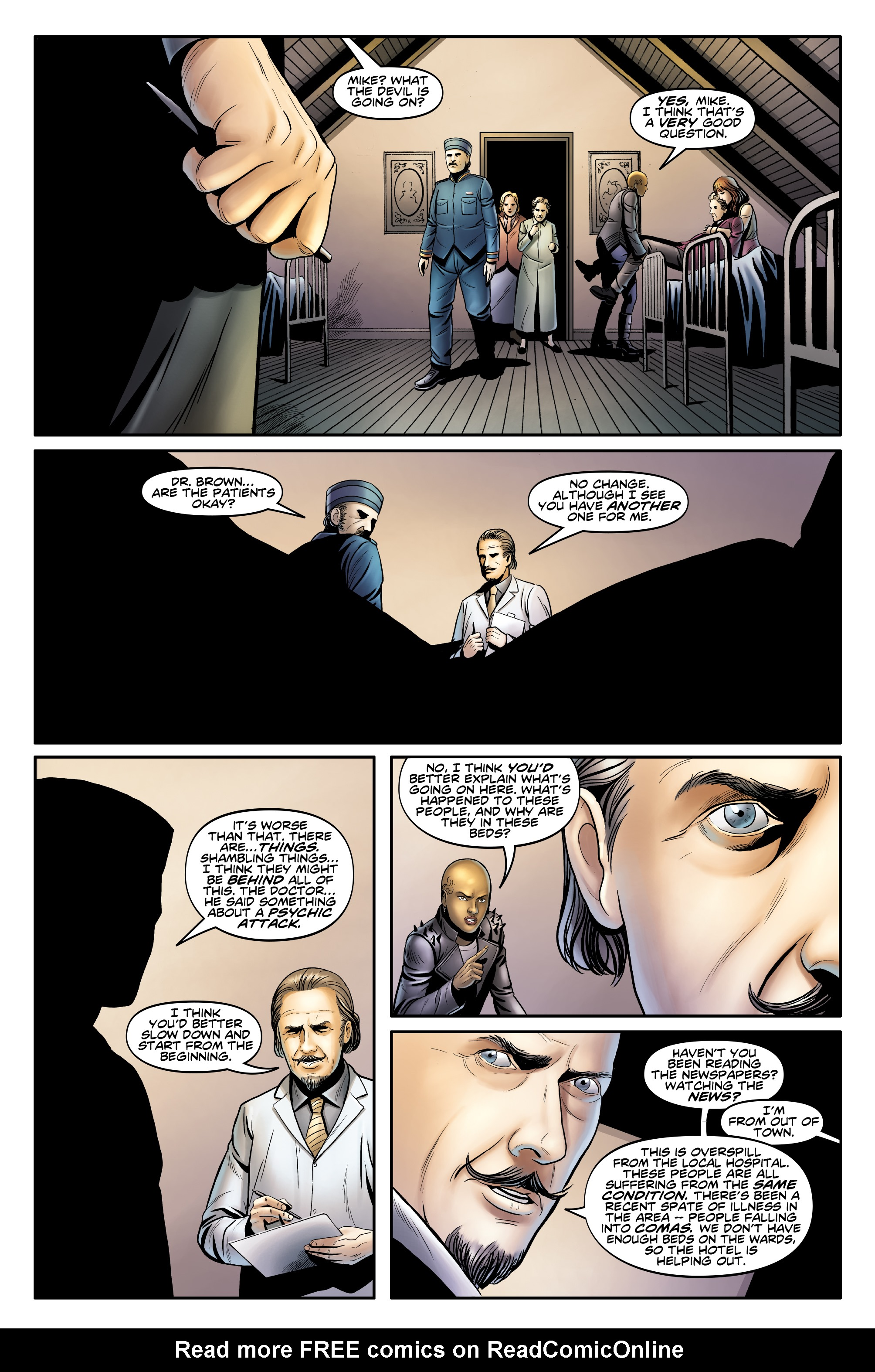 Read online Doctor Who: The Twelfth Doctor Year Three comic -  Issue #3 - 17