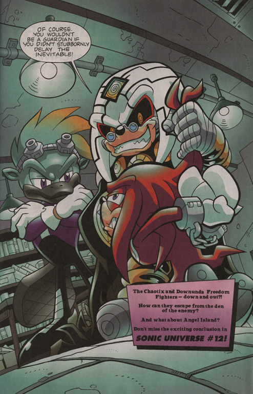 Read online Sonic Universe comic -  Issue #11 - 23