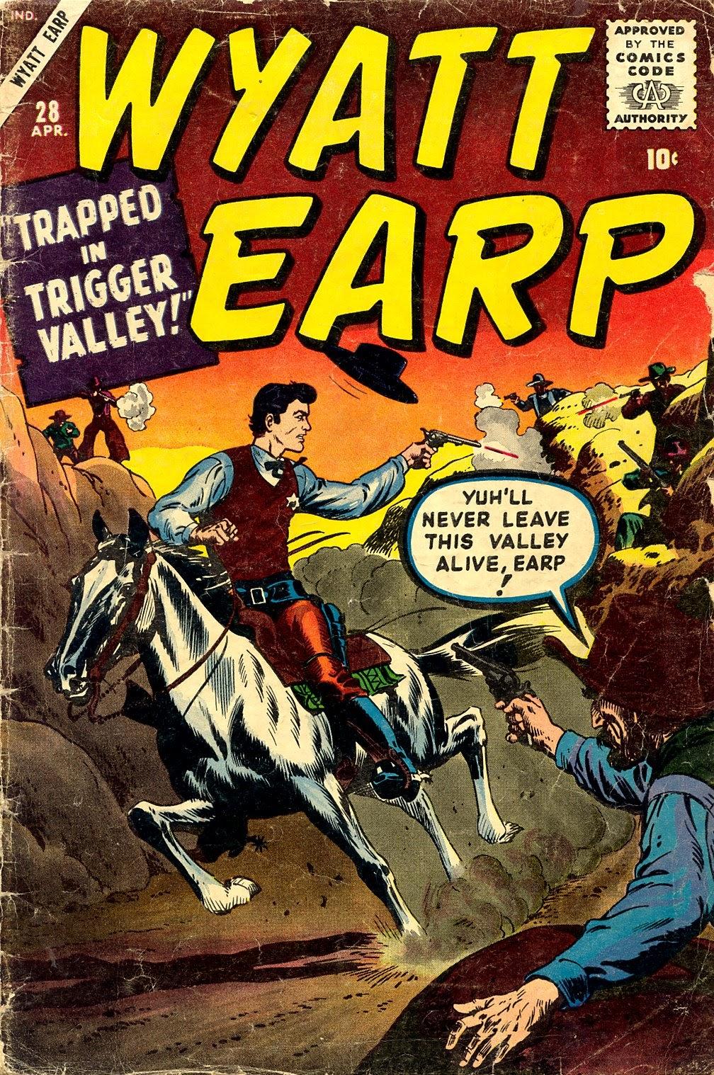 Wyatt Earp issue 28 - Page 1