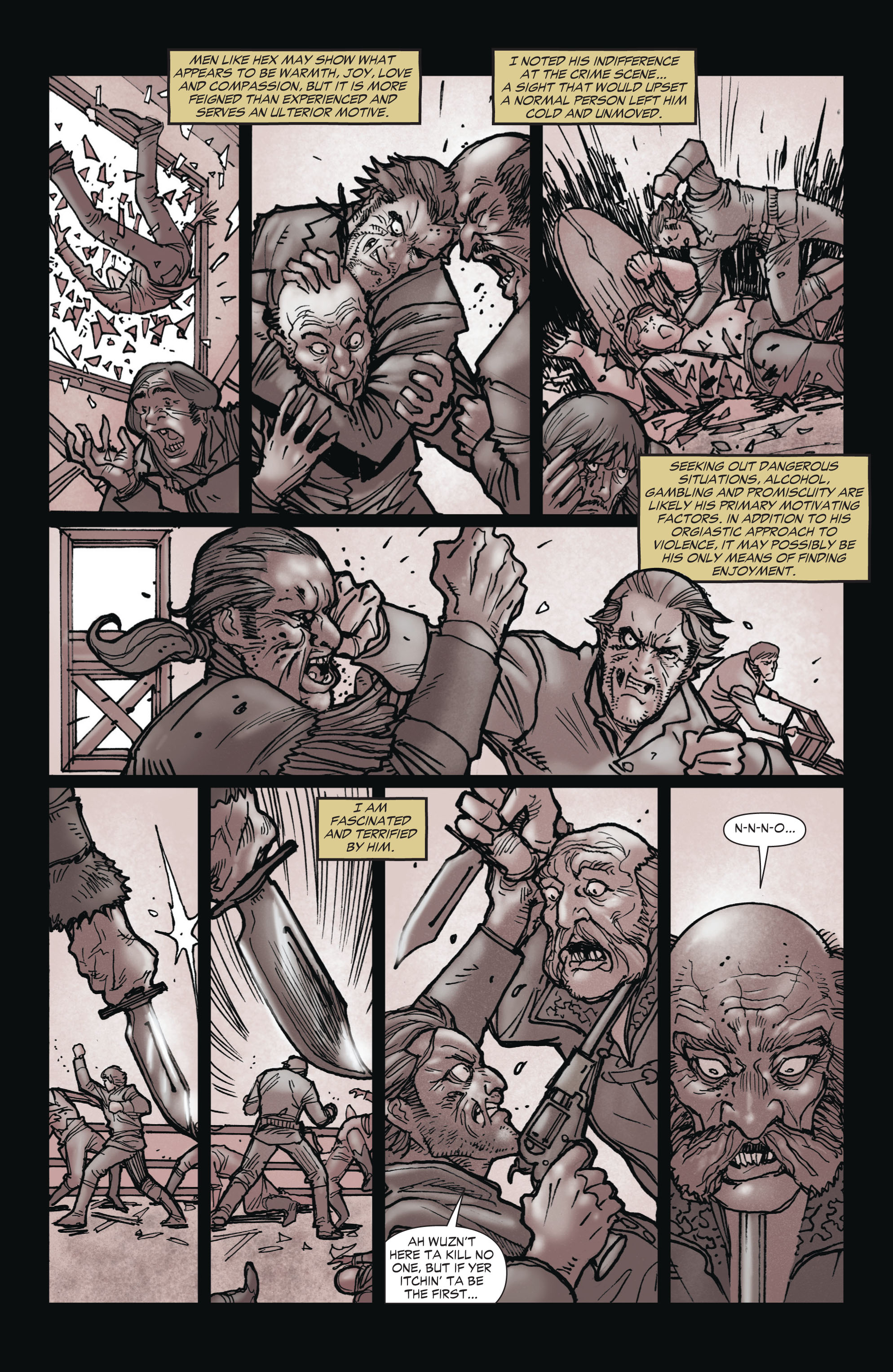 Read online All-Star Western (2011) comic -  Issue #1 - 16