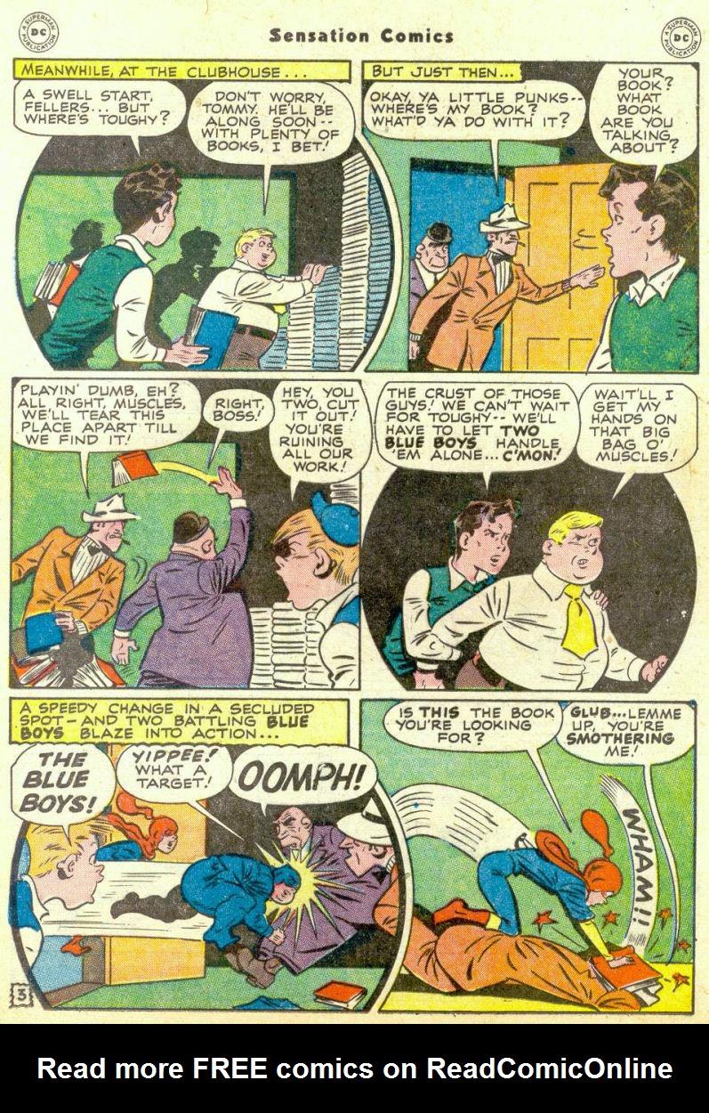 Read online Sensation (Mystery) Comics comic -  Issue #67 - 19