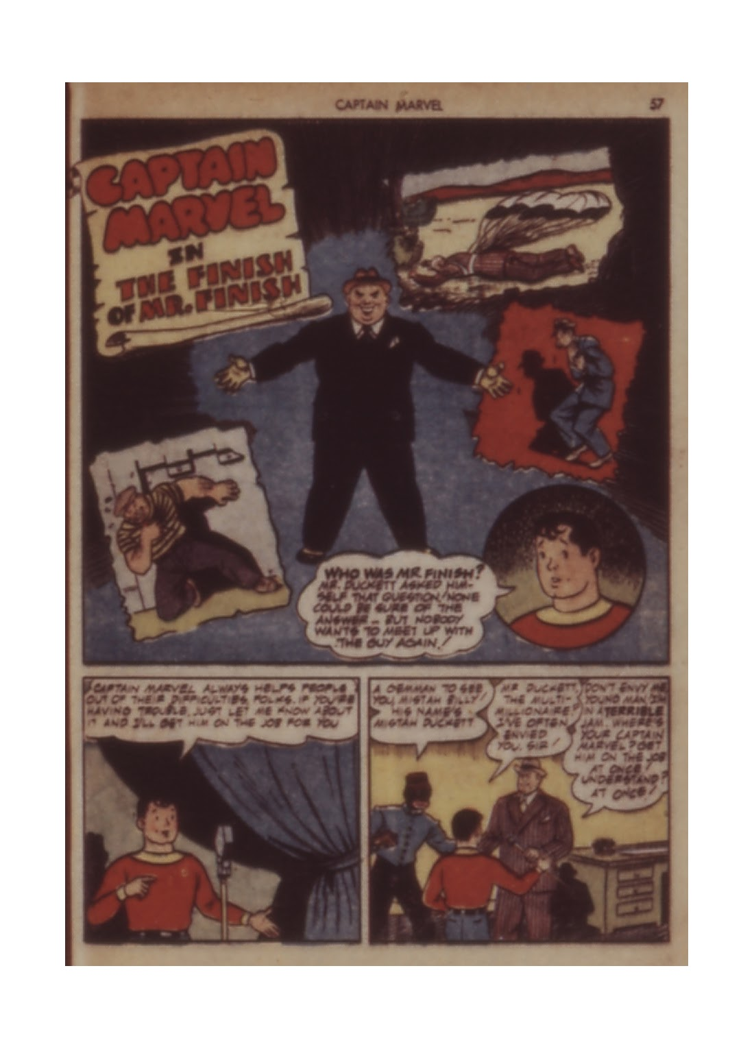 Captain Marvel Adventures issue 11 - Page 57