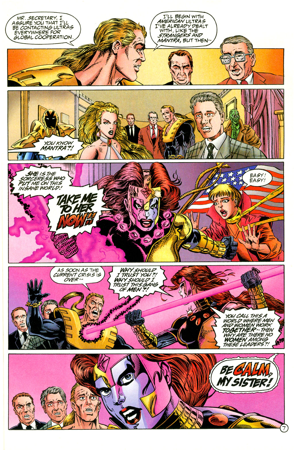 Read online UltraForce (1994) comic -  Issue #2 - 8