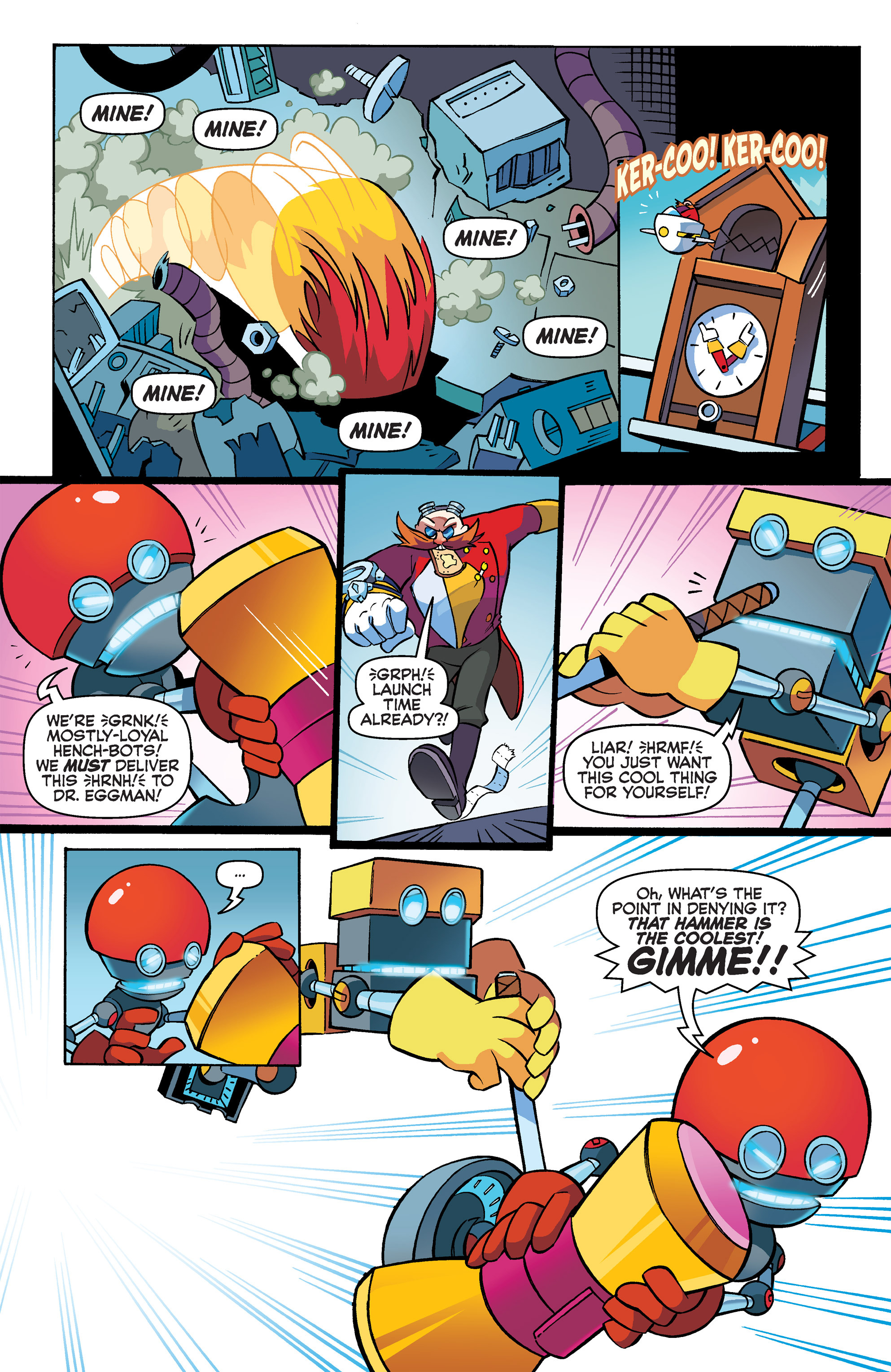 Read online Sonic Boom comic -  Issue #3 - 15