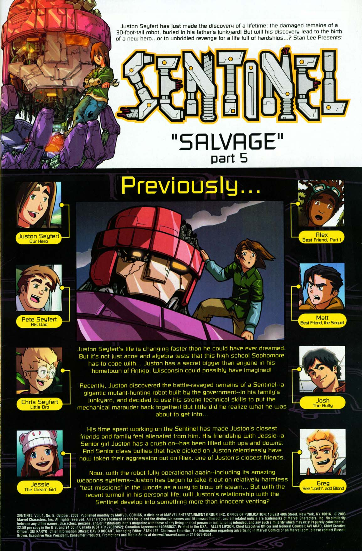 Read online Sentinel comic -  Issue #5 - 3