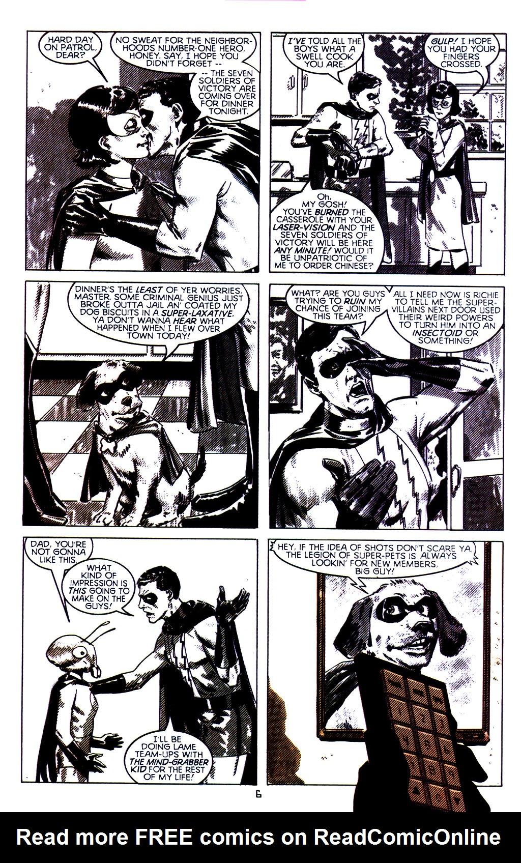 Read online Tangent Comics/ The Superman comic -  Issue # Full - 7