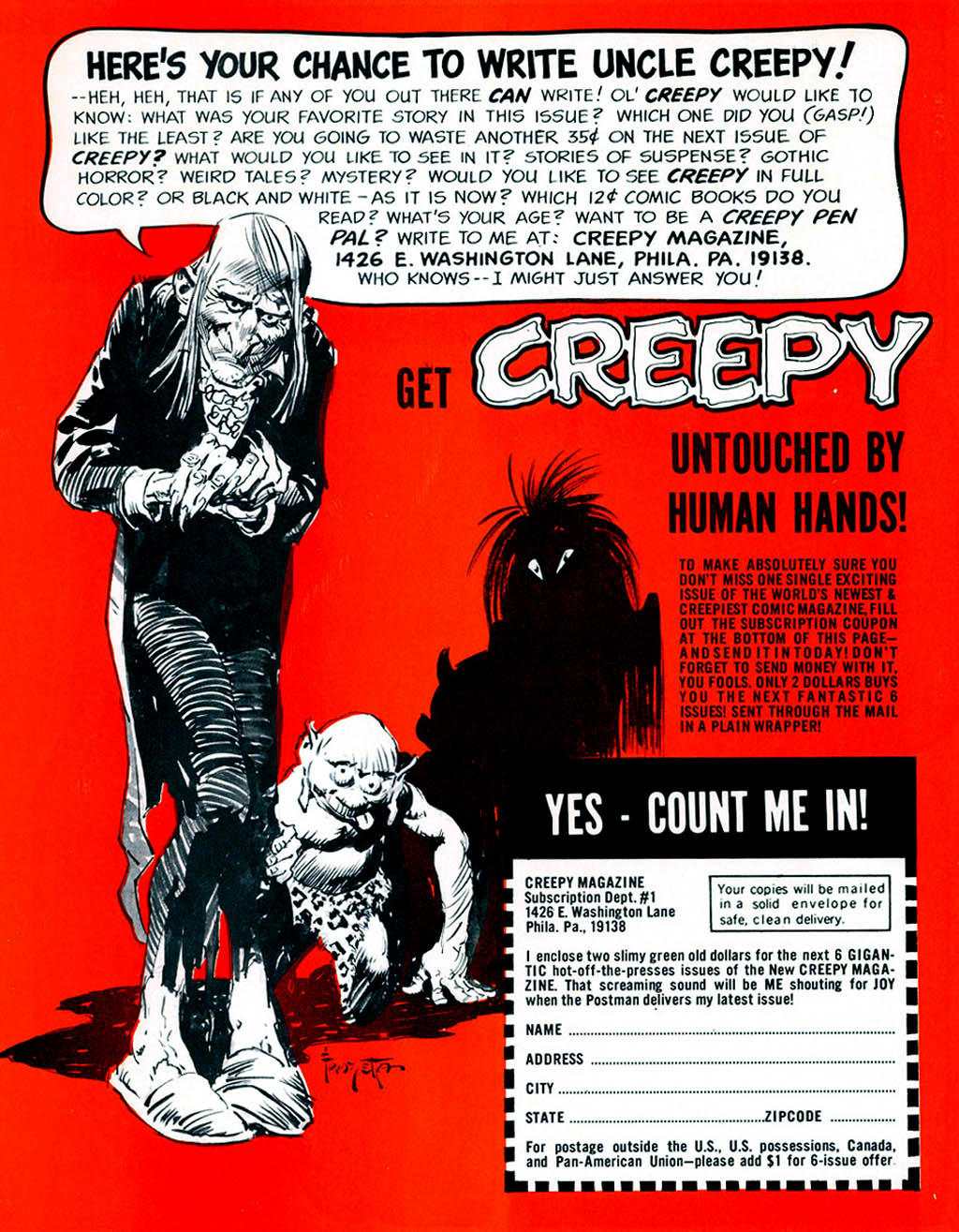 Creepy (1964) Issue #1 #1 - English 51