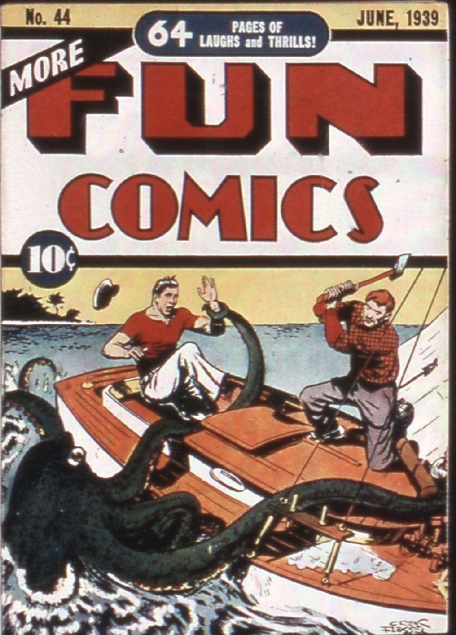 More Fun Comics 44 Page 1