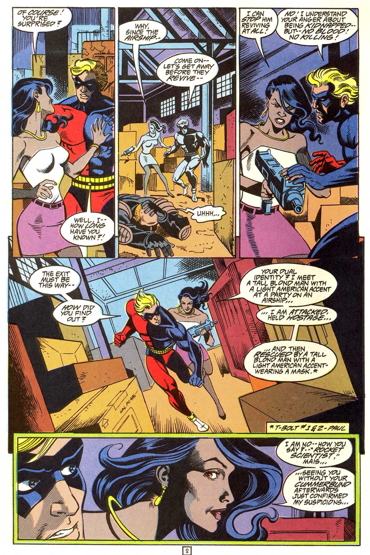 Read online Peter Cannon--Thunderbolt (1992) comic -  Issue #9 - 3