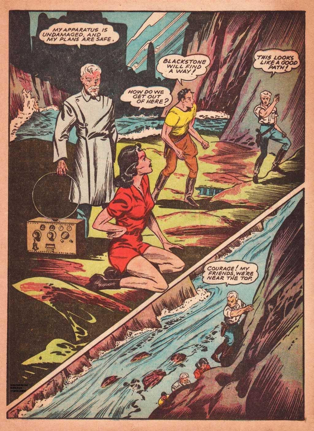Read online Super-Magician Comics comic -  Issue #2 - 39