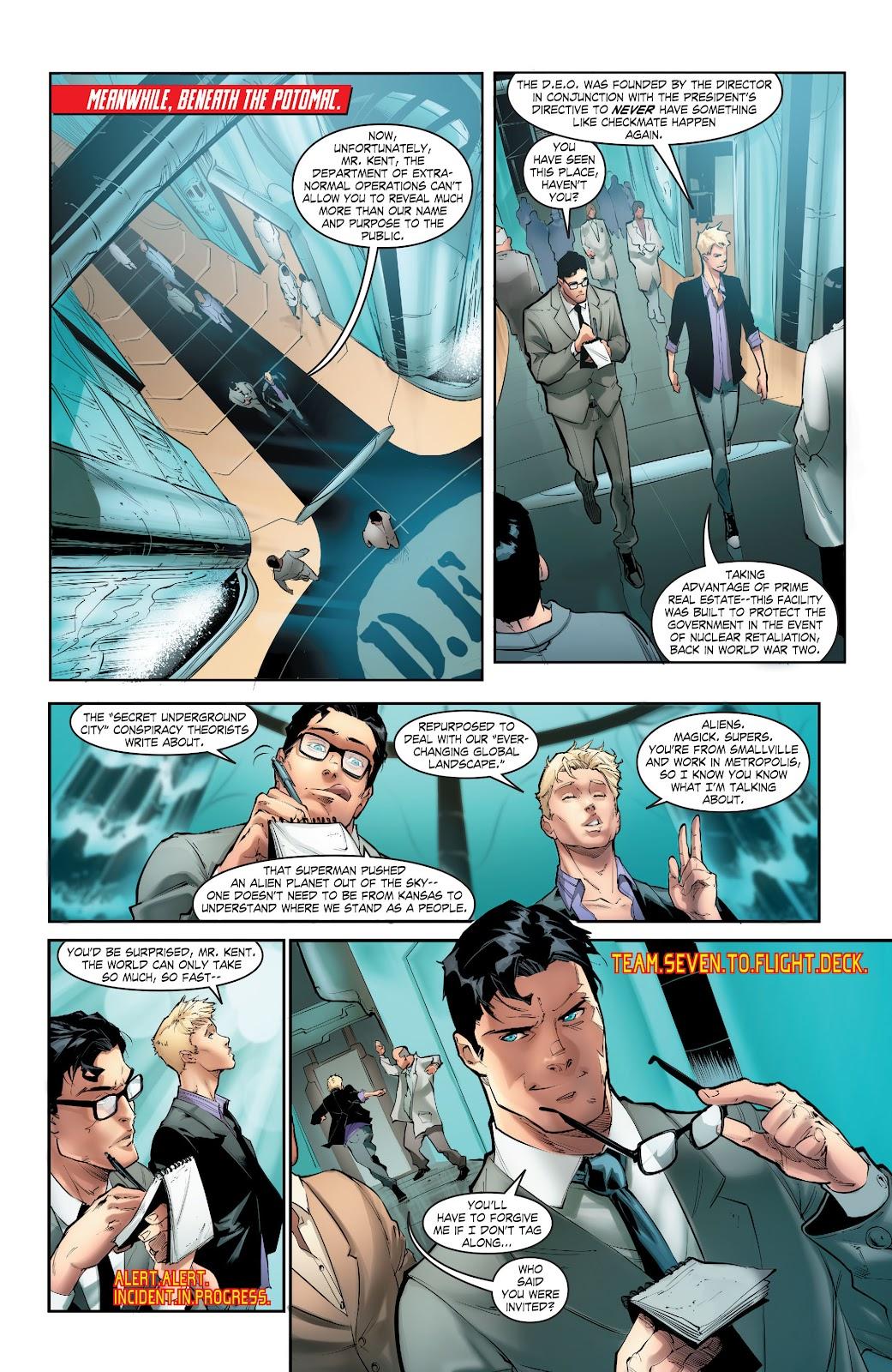 Read online Smallville Season 11 [II] comic -  Issue # TPB 5 - 32
