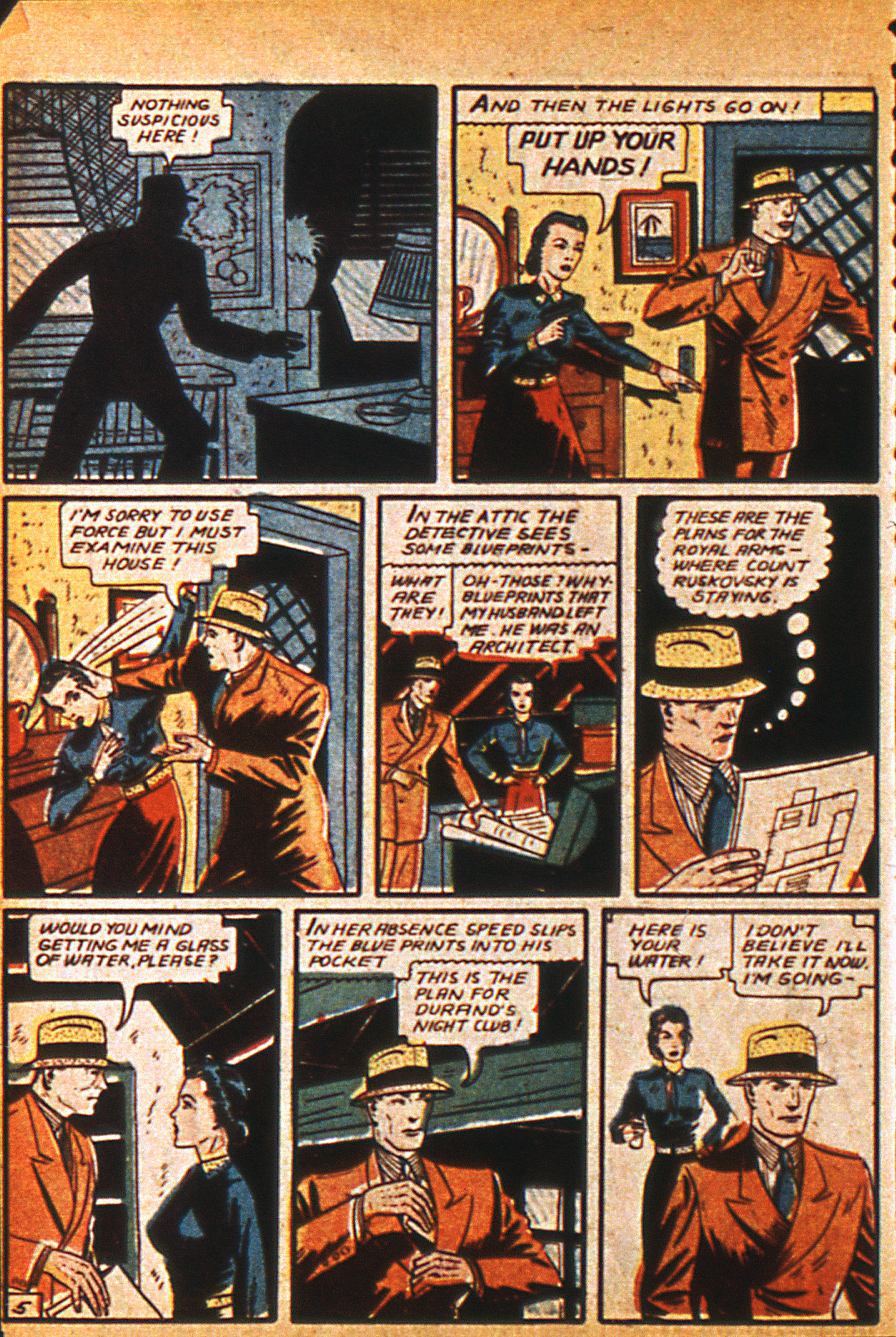 Read online Detective Comics (1937) comic -  Issue #36 - 40
