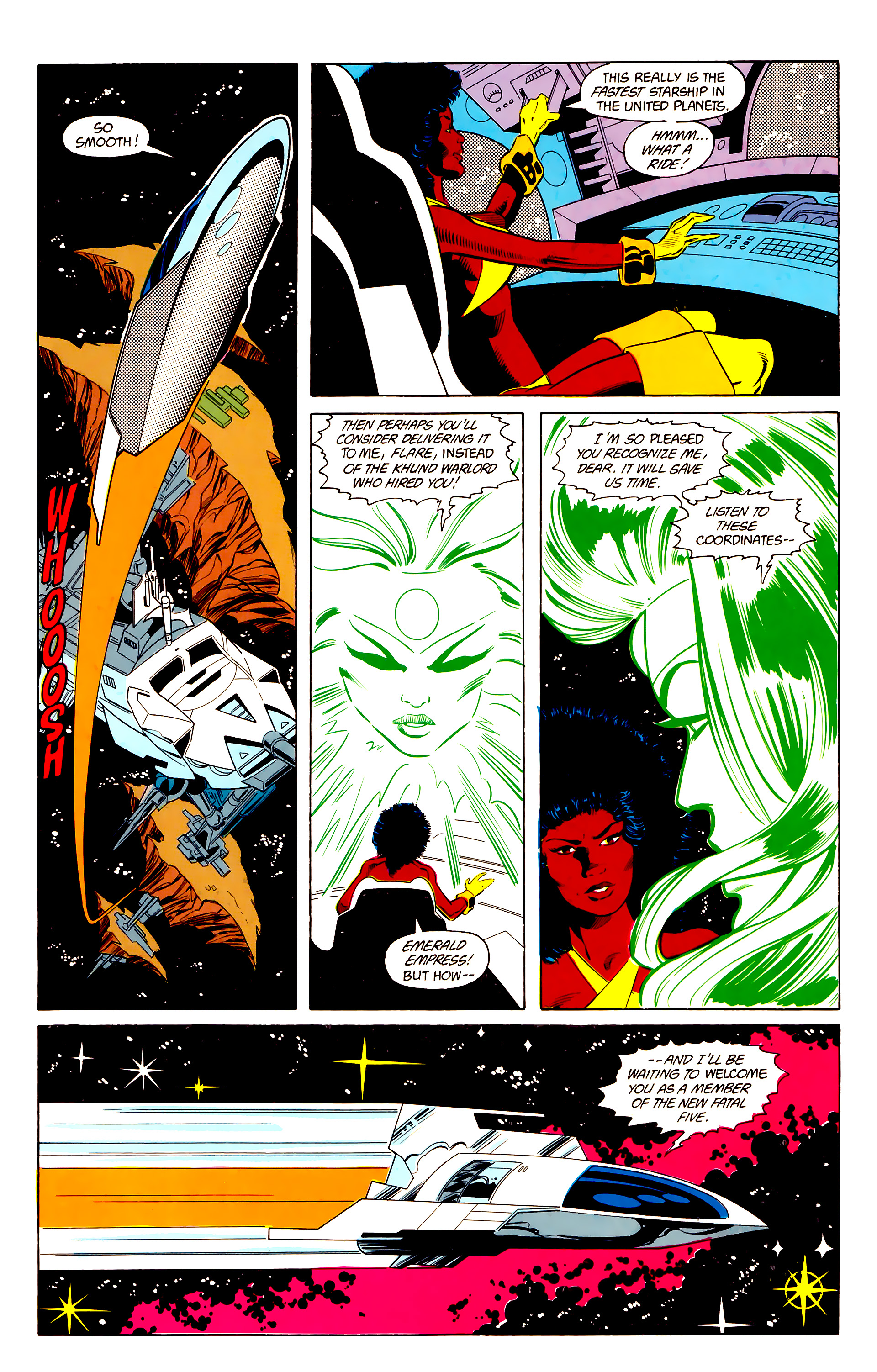 Legion of Super-Heroes (1984) 24 Page 20
