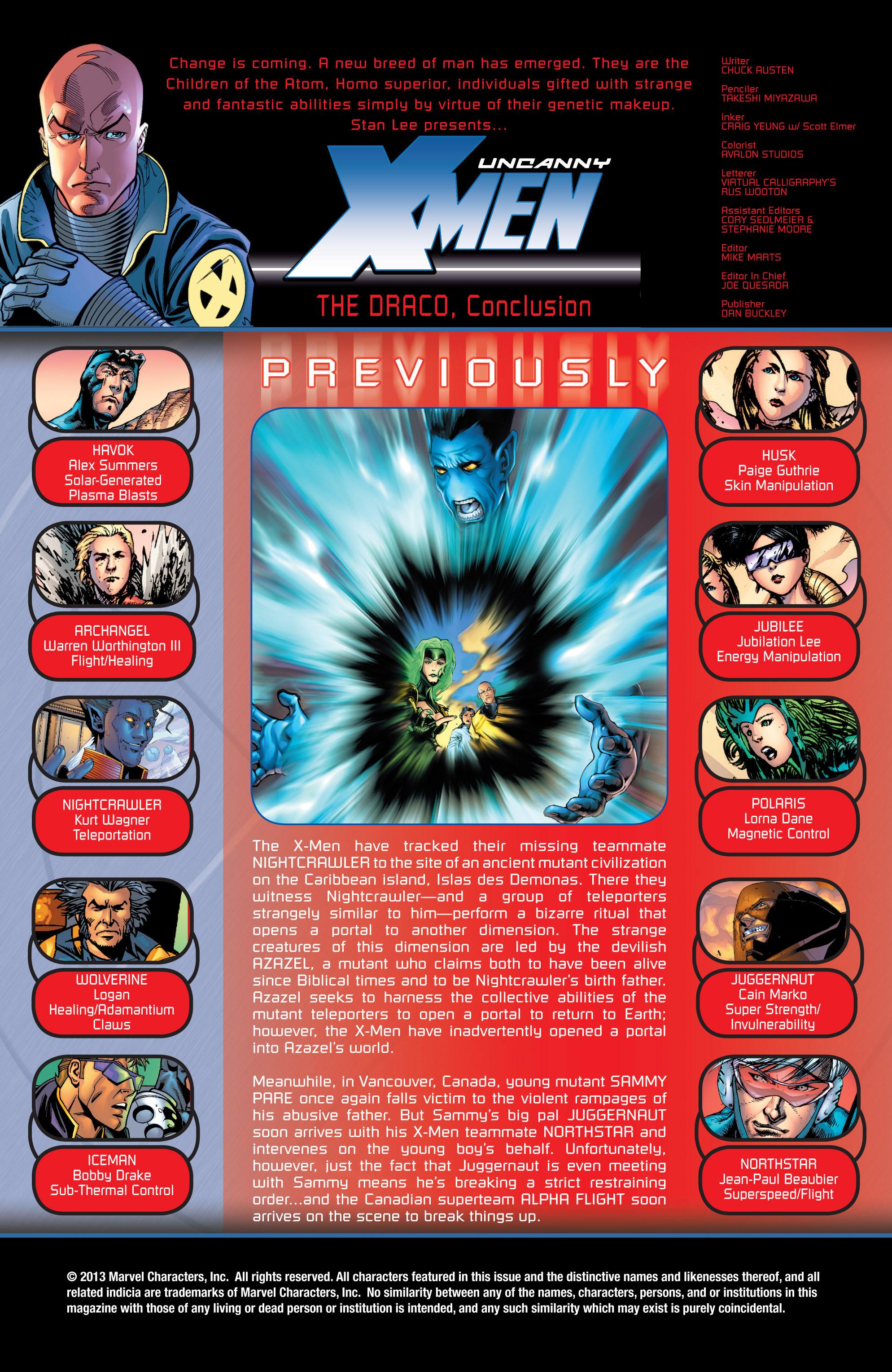 Read online Uncanny X-Men (1963) comic -  Issue #434 - 2