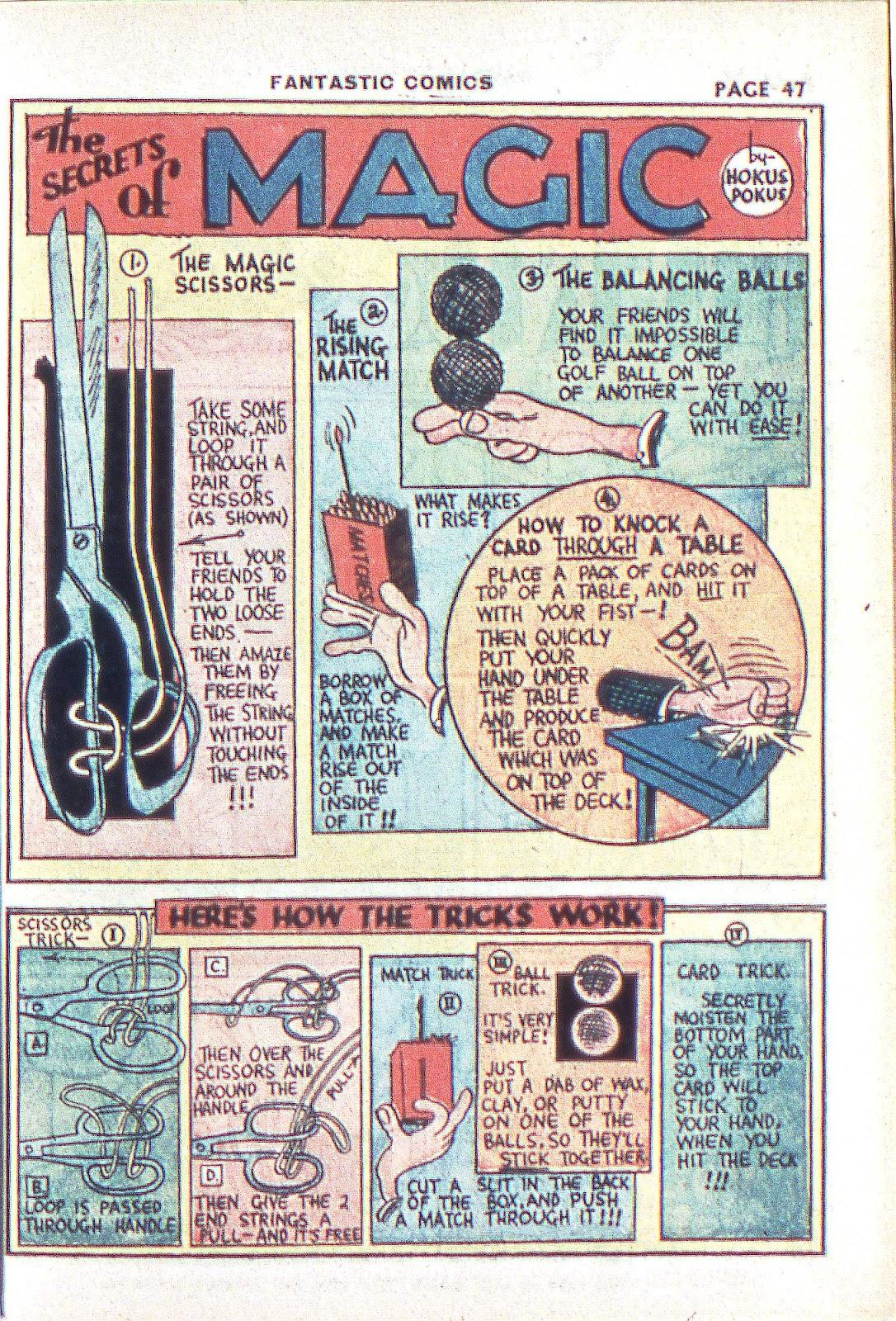 Read online Fantastic Comics comic -  Issue #3 - 49