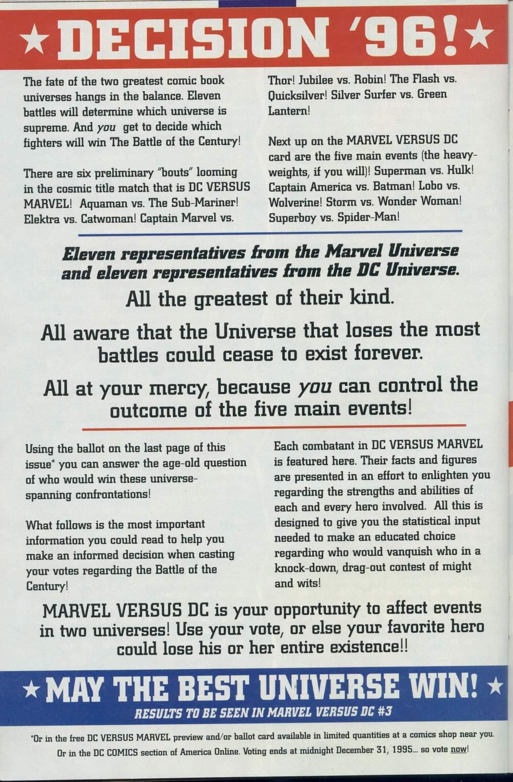 Read online DC Versus Marvel Comics comic -  Issue #1 - 36