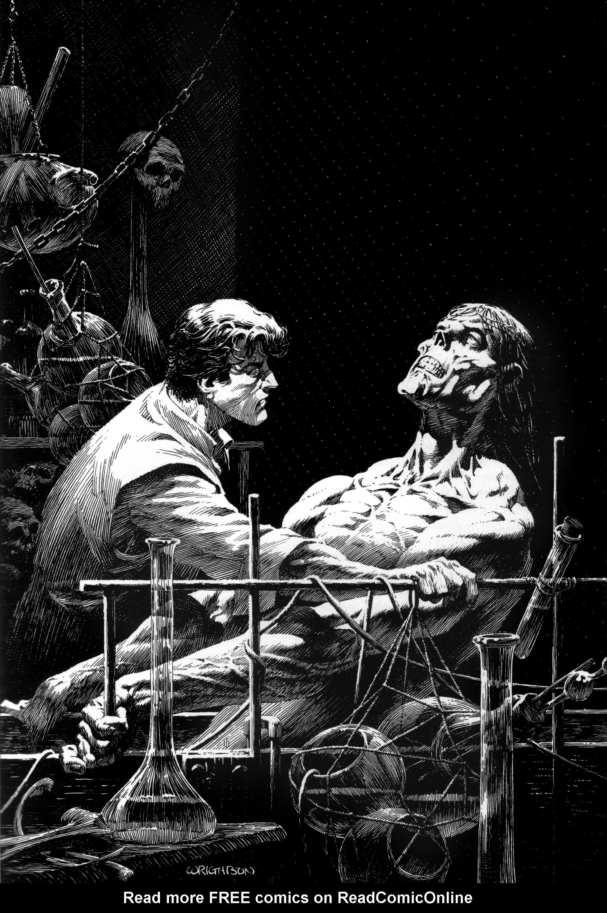 Read online Bernie Wrightson's Frankenstein comic -  Issue # Full - 11