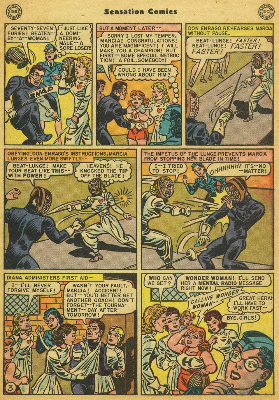 Read online Sensation (Mystery) Comics comic -  Issue #80 - 4
