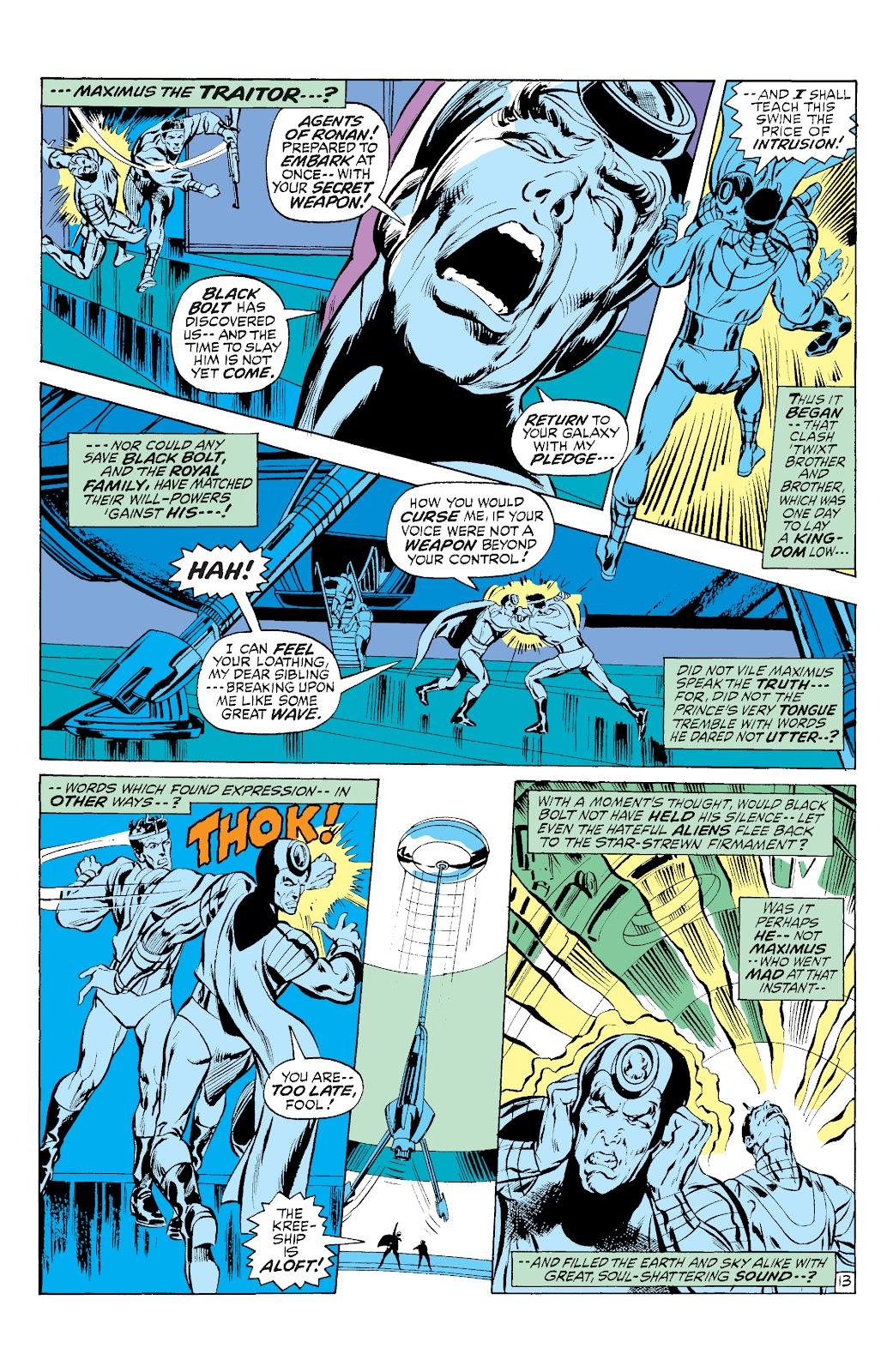 Read online Marvel Masterworks: The Inhumans comic -  Issue # TPB 1 (Part 3) - 8