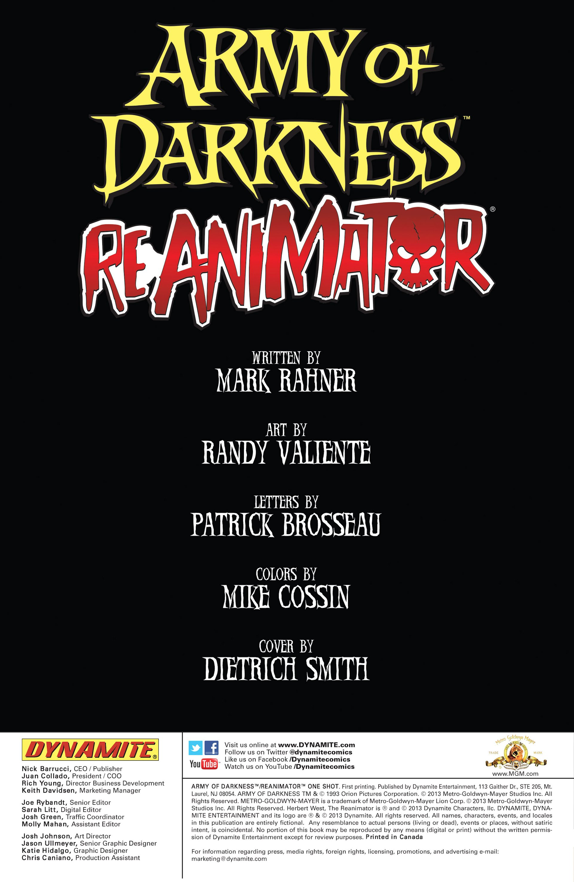 Read online Army of Darkness/Reanimator comic -  Issue #Army of Darkness/Reanimator Full - 2