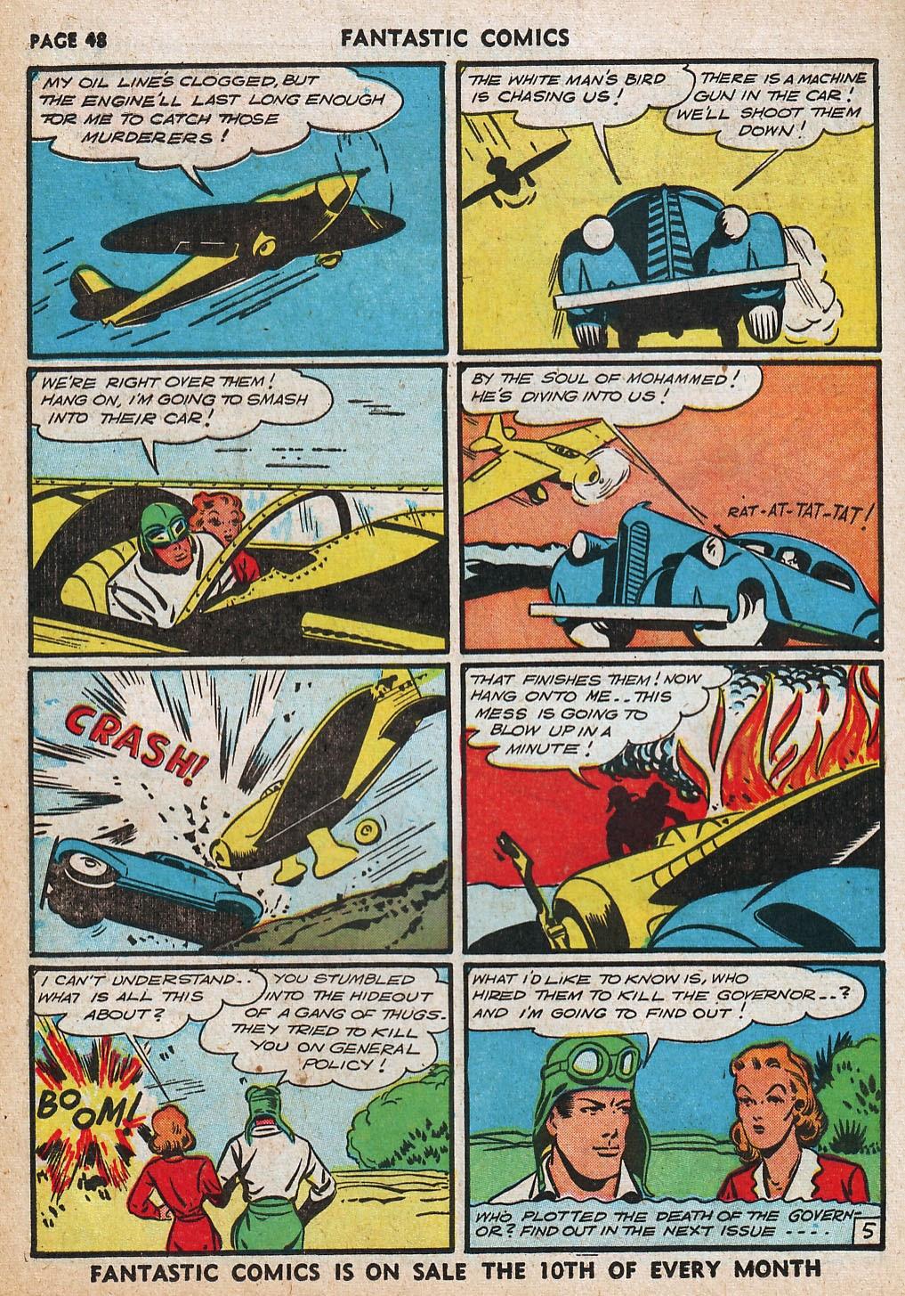 Read online Fantastic Comics comic -  Issue #20 - 48