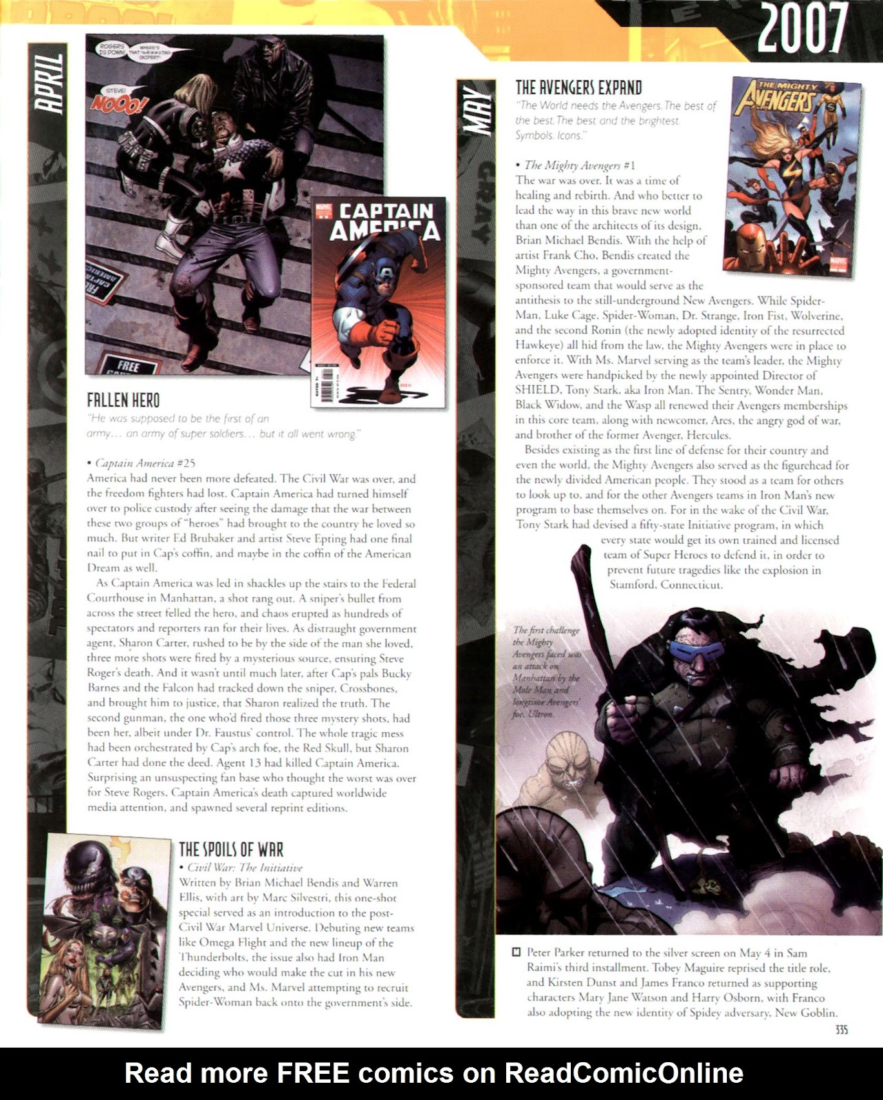 Read online Marvel Chronicle comic -  Issue # TPB (Part 3) - 111