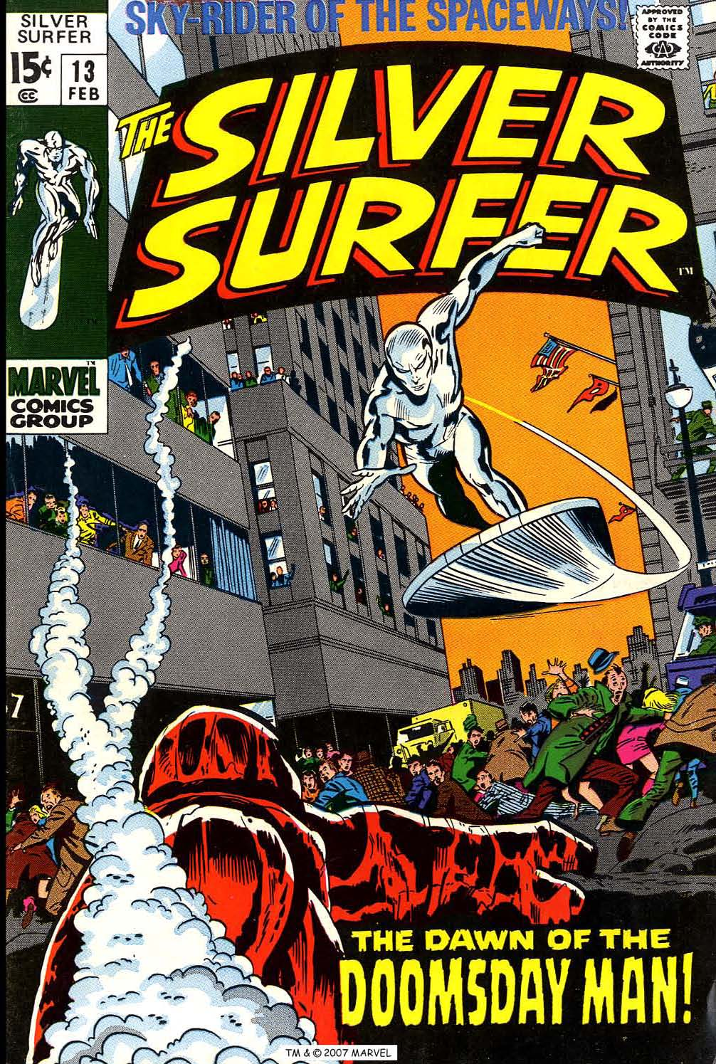 Read online Silver Surfer (1968) comic -  Issue #13 - 1