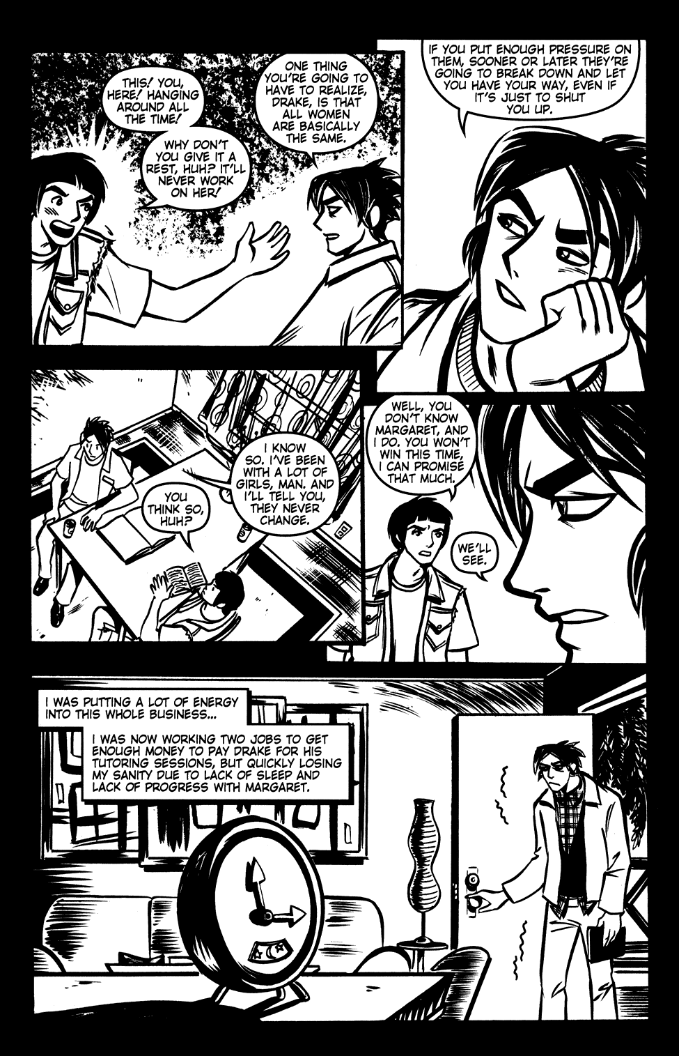 Read online Scooter Girl comic -  Issue #3 - 6